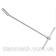 Т-обр магнитный свечной ключ 16мм L450мм  TOPTUL CTHB1645