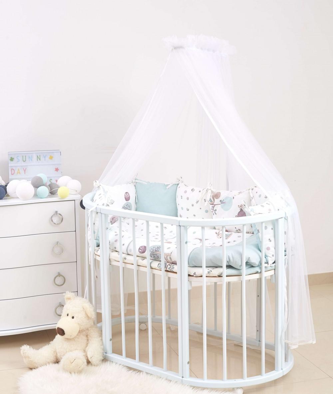 Детское постельное белье Twins Dolce E-311 Forest mint 6 эл