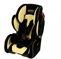 Автокресло BabySafe Sport Premium бежевый, гр.1-2-3,(9мес-12лет)
