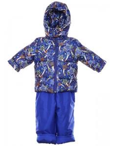 Зимний комбинезон костюм евро - ноль р.86 — синяя звезда