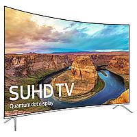 "Телевизор Samsung 42"" с изогнутым экраном ( UE42NU7300UXUA ) 4K smart tv DVB-T2/DVB-С, фото 1"