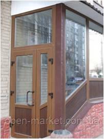Тамбурные двери металлопластиковые в Николаеве
