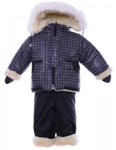 Зимний комбинезон костюм нолевка р. 86 - в клеточку, 2 вида