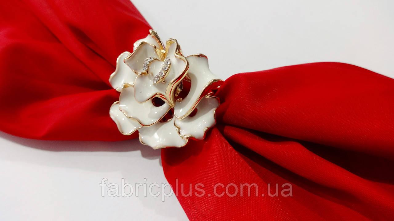 f801d8bdf2e5 Зажим для платка цветок золото
