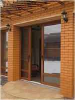Раздвижные двери металлопластиковые в Николаеве