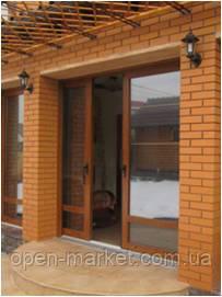 Розсувні двері металопластикові в Миколаєві, фото 2