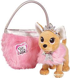 Собачка Chi Chi Love Принцесса с пушистой сумкой Simba 5893126