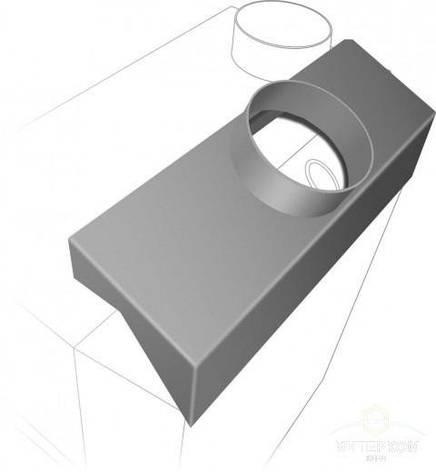 Теплосъемник к печи ТОП-200, фото 2