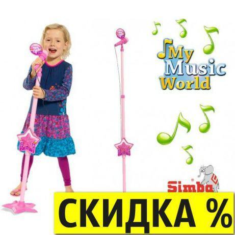 Музыкальный инструмент Микрофон Simba 6830691