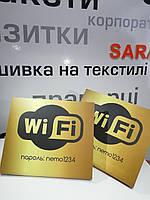 Табличка на стол WI-FI