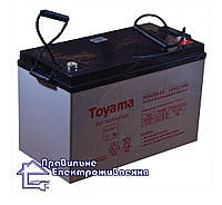 Гелева акумуляторна батарея Toyama NPG120-12, фото 1