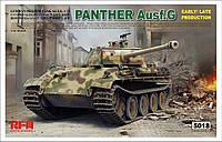 PANTHER AUSF.G. Сборная модель немецкого среднего танка (ранний-поздний). 1/35 RFM RM-5018