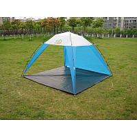 Тент пляжный, палатка-тент, защита от солнца Green Camp 1045 Распродажа!