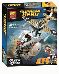 """Конструктор Bela 10744 (аналог Lego Super Heroes 76075) """"Битва Чудо-женщины"""" 297 дет."""