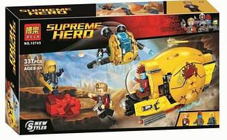 """Конструктор Bela 10745 (аналог Lego Super Heroes 76080) """"Месть Аиши"""" 337 дет."""