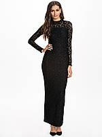 Женское вечернее платье черного цвета Cheri Dress Maxi dresses от Minimum  - Black в размере S