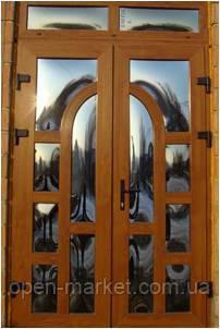 Двери металлопластиковые красивые в Николаеве, фото 2