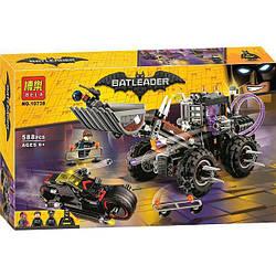 """Конструктор Bela 10738 (аналог Lego The Batman Movie 70915) """"Разрушительное нападение Двуликого"""" 588 дет."""