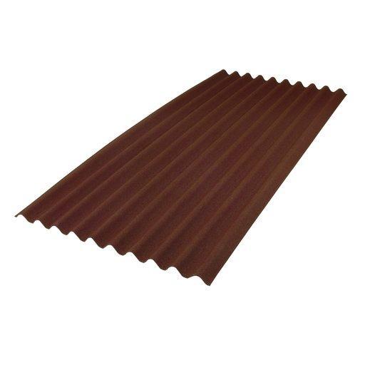 Ондулин битумный шифер коричневый 2*0.95 Onduline