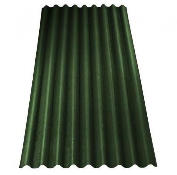 Ондулин битумный шифер зеленый 2*0.95 Onduline