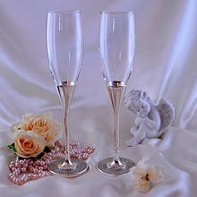 Свадебные бокалы, фужеры