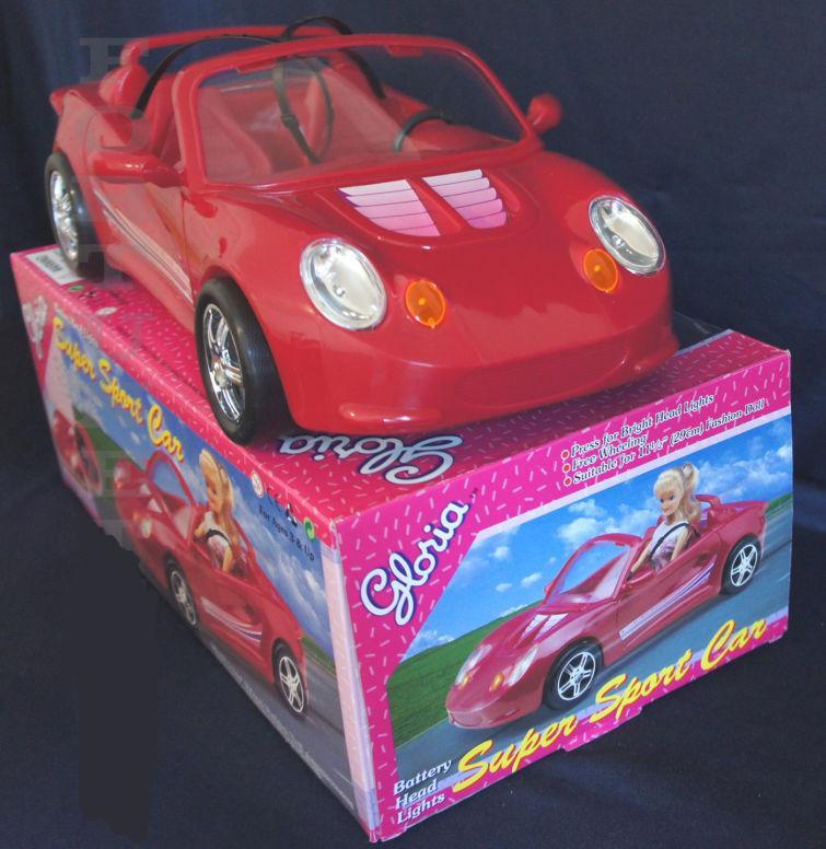 Машинка 22010, длина 40см, для куклы 29см, свет, на бат-ке, в кор-ке, 40,5-15-22,5см