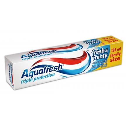 Зубная паста Aquafresh Fresh & Minty 125 мл Польша, фото 2