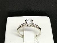 Серебряное кольцо с фианитом. Артикул КВ1132С 16, фото 1