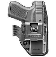 Кобура Fobus APN43 для Glock 43 внутрибрючная, полимерная