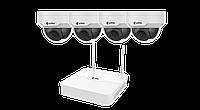 Wi-Fi комплект ZetPro (NVR+4xIPC) ZIP-KIT/NVR301-04LB-W/4*322SR3-VSF28W-D серии Smart
