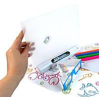 Детская электронная доска для рисования маркером 3D Magic Drawing Board - подводный мир