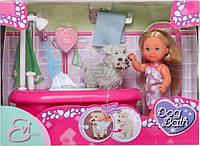 Кукла Ева и набор для купания песика Simba 5733094