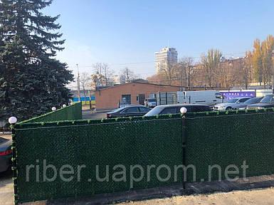 Сетка рабица с ПВХ покрытием Н- 1,6м (Зеленый забор)
