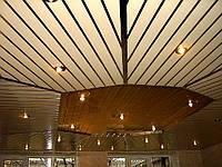 Алюминиевый реечный потолок Киверцы