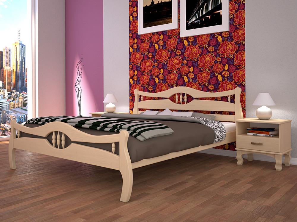 Кровать Корона-2, деревянная