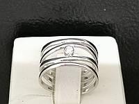 Серебряное кольцо с фианитом. Артикул КВ699С 17, фото 1
