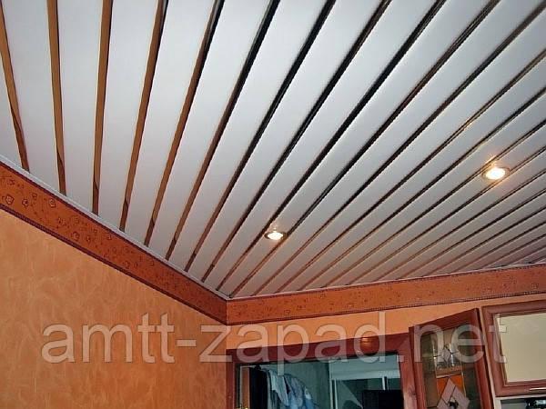 Алюминиевый реечный потолок Костополь
