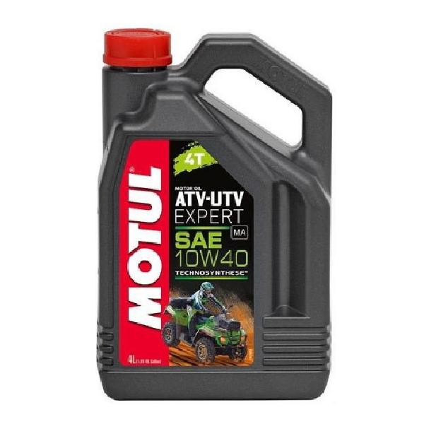 Масло моторное Motul ATV-UTV Expert 4T 10W-40 4л