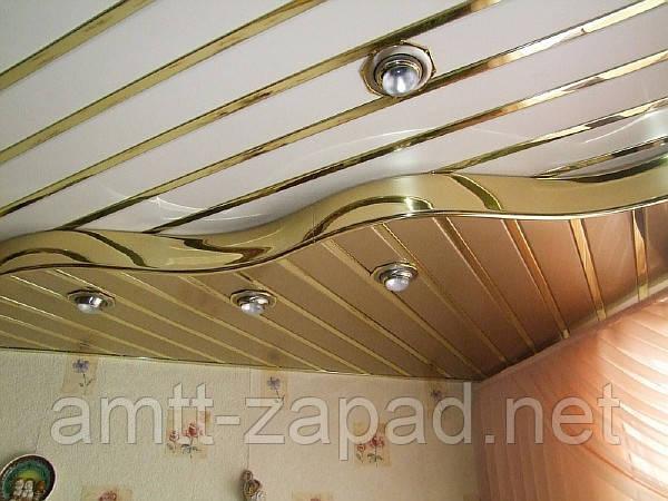 Алюминиевый реечный потолок Нетишин
