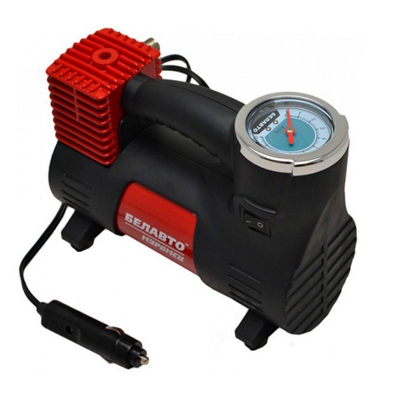 Автокомпрессор для подкачки шин Белавто Муромец 40 л/мин 12В 10 Атм R13-R18 (BK43)