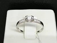 Серебряное кольцо с фианитами. Артикул КВ1105С 17, фото 1