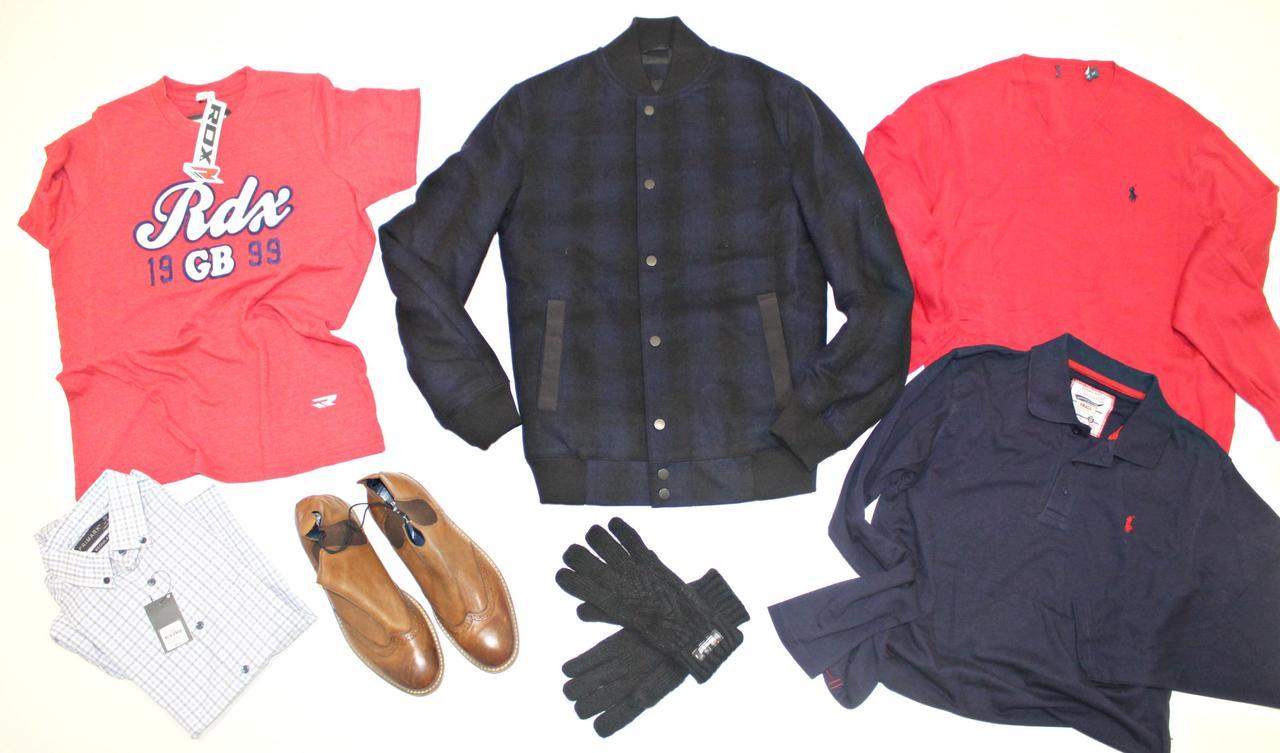 Микс современной мужской брэндовой одежды весна лето осень зима Сток Англия Оптом от 25 кг