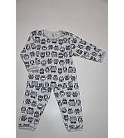 Пижама детская для мальчиков  байка