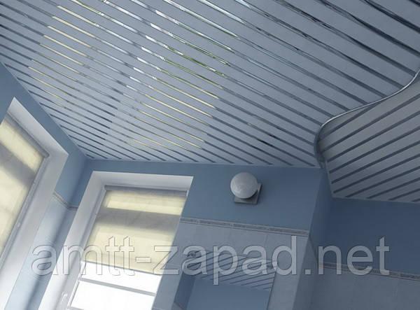 Алюминиевый реечный потолок Дубно