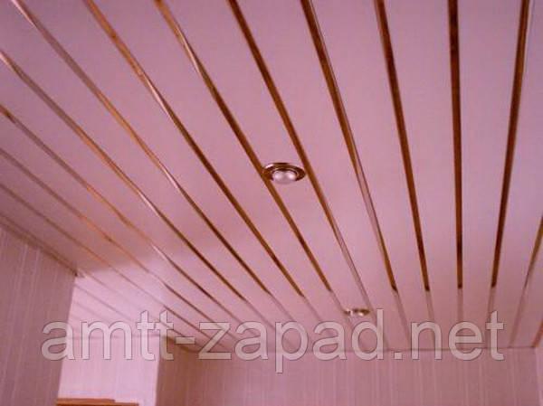 Алюминиевый реечный потолок Броды