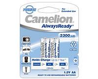 Аккумулятор Camelion R6 AA 2300 mAh Ni-Mh 2 bl Always Ready заряженный