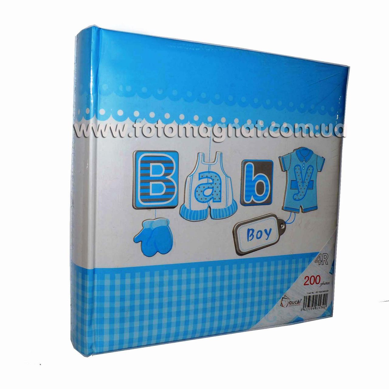 Фотоальбом BABY (детский альбом) 200/10х15см