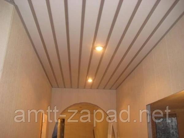 Алюминиевый реечный потолок Калуш