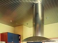 Алюминиевый реечный потолок Верховина