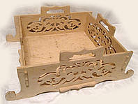 Заготовка для декора  Ящик-поднос